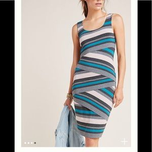 Anthroplogie Flontera slim mini dress